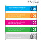 Infographics Design Template Royalty Free Stock Photos