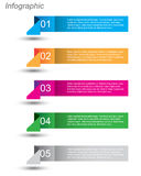 Infographics Design Template Royalty Free Stock Image