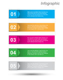 Infographics Design Template Royalty Free Stock Images