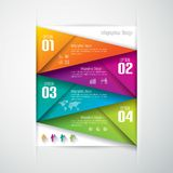 Infographics design template. Royalty Free Stock Photography