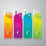 Infographics design template. Stock Photo