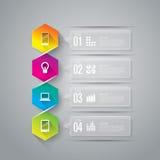 Infographics design template. Stock Photos