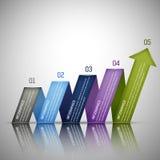 Infographics Design template Stock Photos
