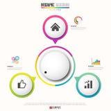Infographics design template. Vector eps10 stock illustration