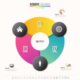 Infographics design template. Vector eps10 Royalty Free Stock Image
