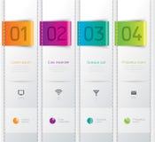 Infographics designmall. Royaltyfria Bilder