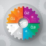 Infographics designmall Arkivfoton