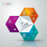 Infographics designmall Arkivbilder