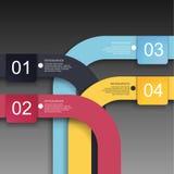 Infographics-Designschablone Stockfoto