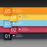Infographics-Designschablone Stockfotos