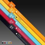 Infographics-Designschablone Lizenzfreie Stockbilder