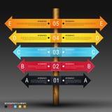 Infographics-Designschablone Stockbilder