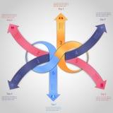 Infographics-Designschablone Lizenzfreie Stockfotografie
