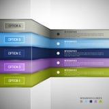 Infographics-Designschablone Stockbild