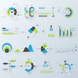 Infographics di affari Fotografia Stock Libera da Diritti