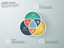 Infographics di affari con le fasi di un imbuto di vendite Immagini Stock