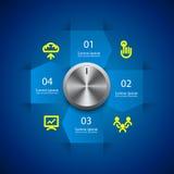 Infographics di tecnologia Fotografia Stock Libera da Diritti
