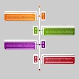 Infographics di vettore Fotografie Stock Libere da Diritti