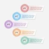 Infographics di vettore Immagine Stock Libera da Diritti