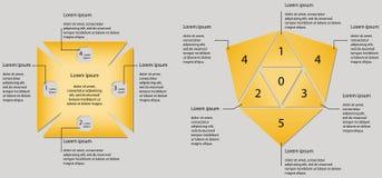 Infographics di vettore opzioni Buon disegno Fotografia Stock Libera da Diritti