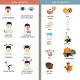Infographics dla uderzenia Zdjęcie Royalty Free