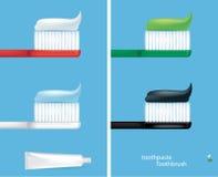 Infographics do cuidado dos dentes Ilustração do vetor Fotos de Stock