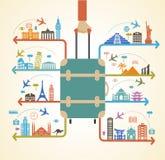 Infographics do curso ilustração royalty free