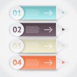 Infographics do vetor Foto de Stock