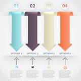 Infographics do vetor Fotografia de Stock Royalty Free