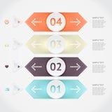 Infographics do vetor Imagens de Stock