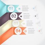 Infographics do vetor Fotos de Stock