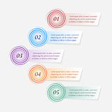 Infographics do vetor Imagem de Stock Royalty Free