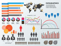 Infographics and education,business Stock Image