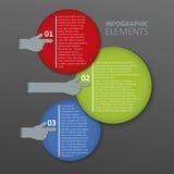 Infographics element Zdjęcie Royalty Free