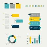 Infographics element stock illustrationer
