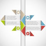 Infographics element. Abstract arrow infographics element. This is file of EPS8 format stock illustration