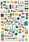 Infographics element E Arkivfoton