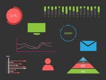 Infographics-Elemente Lizenzfreies Stockfoto