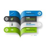 Infographics-Elemente Lizenzfreies Stockbild