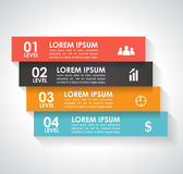 Infographics elements. Can be used for workflow layout, diagram, number options, step up options, web template Stock Image