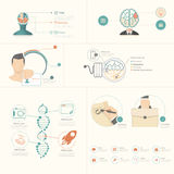 Infographics elements vector illustration