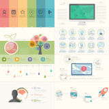 Infographics elements vector illustration