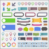Infographics Elements Collection royalty free illustration