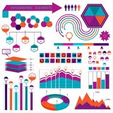 Infographics elemetns collection Royalty Free Stock Images