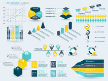 Infographics Elements Collection Stock Photos