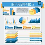 Infographics elements collection. Set 4 Stock Images