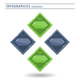Infographics elements. Design template. With space for text royalty free illustration