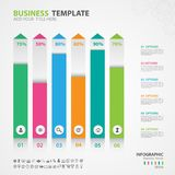 Infographics elements diagram with 6 steps, options, slide, presentation, graph, chart, diagram, timeline vector. Infographics elements diagram with 6 steps Royalty Free Stock Photos