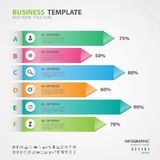 Infographics elements diagram with 6 steps, slide, presentation, graph, chart, diagram, timeline vector. Infographics elements diagram with 6 steps, options Stock Photos