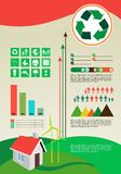 Infographics Elements ecology Royalty Free Stock Images